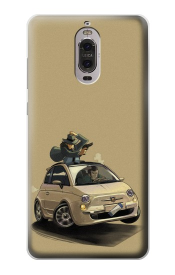Printed Lupin The Third Huawei Ascend P6 Case