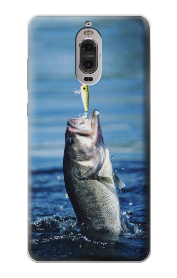 Printed Bass Fishing Huawei Ascend P6 Case