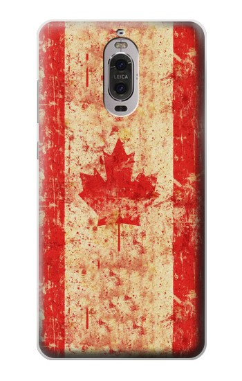 Printed Canada Flag Old Vintage Huawei Ascend P6 Case