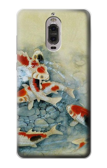 Printed Koi Carp Fish Art Painting Huawei Ascend P6 Case