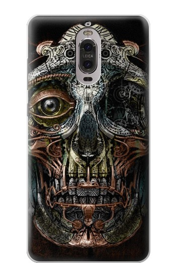 Printed Steampunk Skull Head Huawei Ascend P6 Case