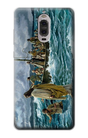 Printed Jesus Walk on The Sea Huawei Ascend P6 Case