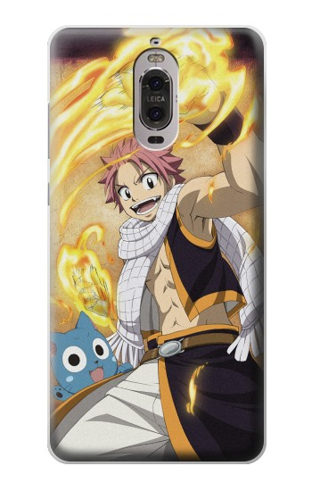Printed Fairy Tail Natsu Happy Huawei Ascend P6 Case