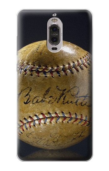Printed Babe Ruth Baseball Autographed Huawei Ascend P6 Case