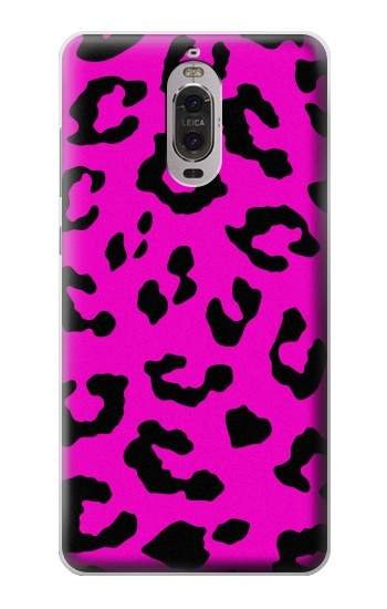 Printed Pink Leopard Pattern Huawei Ascend P6 Case