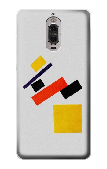 Printed Malevich Suprematism Huawei Ascend P6 Case