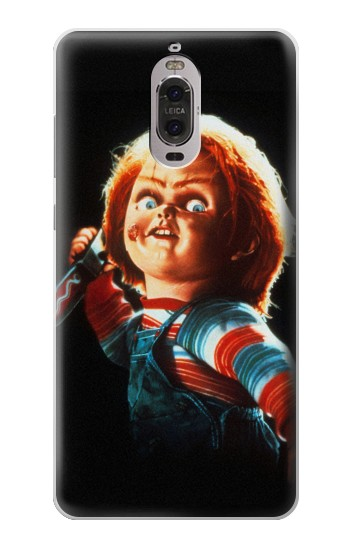 Printed Chucky With Knife Huawei Ascend P6 Case