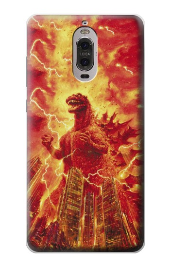 Printed Godzilla The Legend Is Reborn Huawei Ascend P6 Case