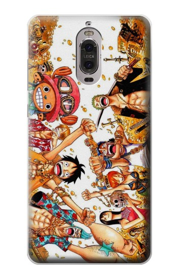 Printed One Piece Straw Hat Luffy Pirate Crew Huawei Ascend P6 Case