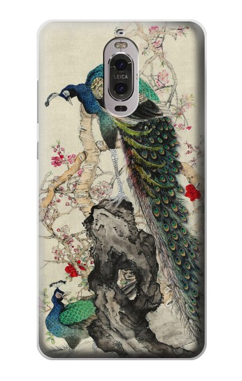 Printed Peacock Painting Huawei Ascend P6 Case