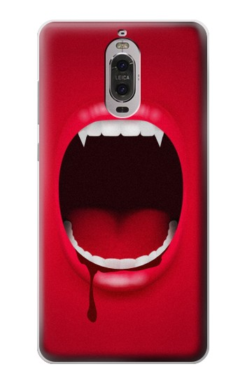 Printed Vampire Mouth Huawei Ascend P6 Case