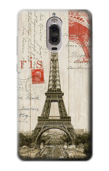 Printed Eiffel Tower Paris Postcard Huawei Ascend P6 Case
