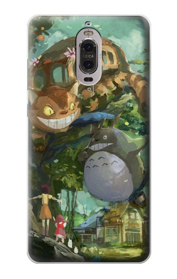 Printed My Neighbor Totoro Cat Bus Huawei Ascend P6 Case