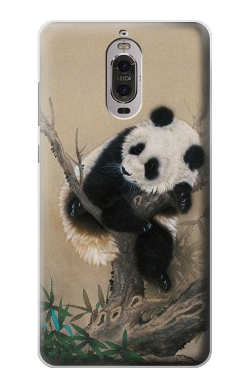 Printed Panda Fluffy Art Painting Huawei Ascend P6 Case