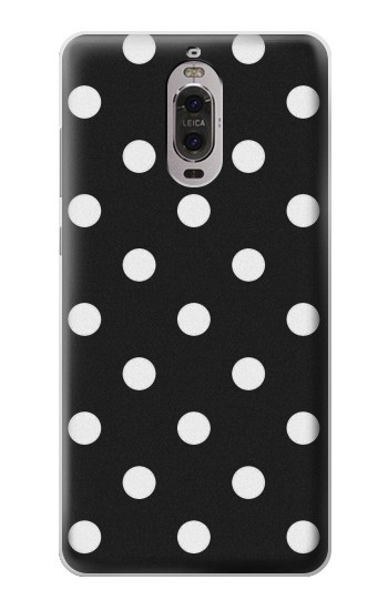 Printed Black Polka Dots Huawei Ascend P6 Case