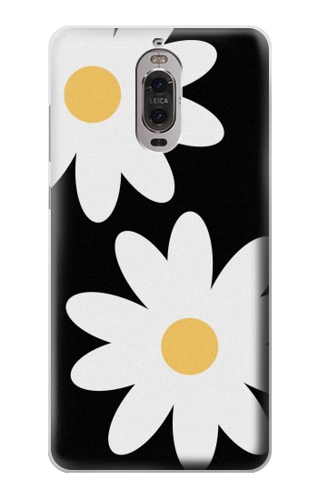 Printed Daisy White Flowers Huawei Ascend P6 Case