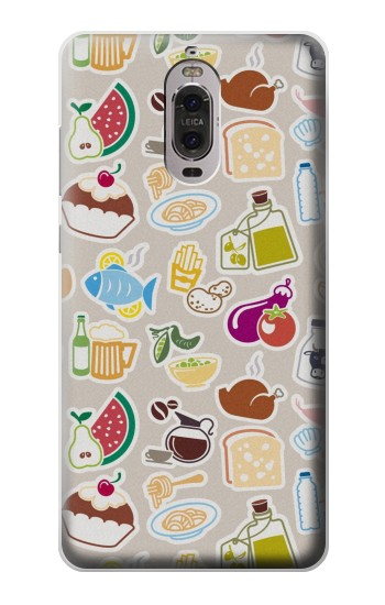 Printed Food and Drink Seamless Huawei Ascend P6 Case