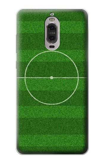 Printed Football Soccer Field Huawei Ascend P6 Case