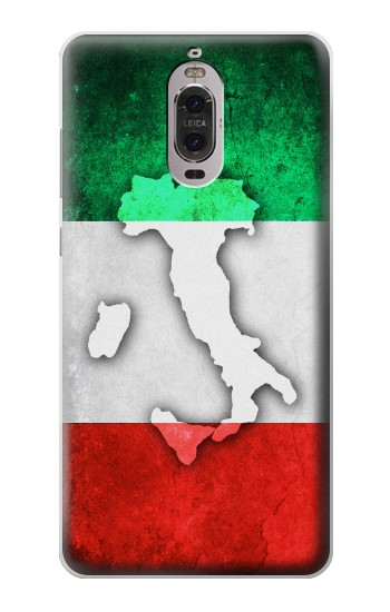 Printed Italy Flag Huawei Ascend P6 Case