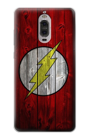 Printed Thunder Speed Flash Minimalist Huawei Ascend P6 Case