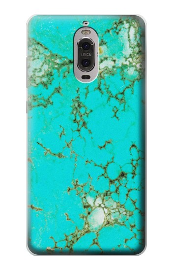 Printed Turquoise Gemstone Texture Graphic Printed Huawei Ascend P6 Case