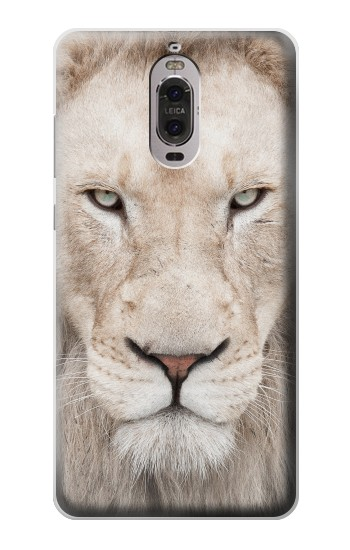 Printed White Lion Face Huawei Ascend P6 Case