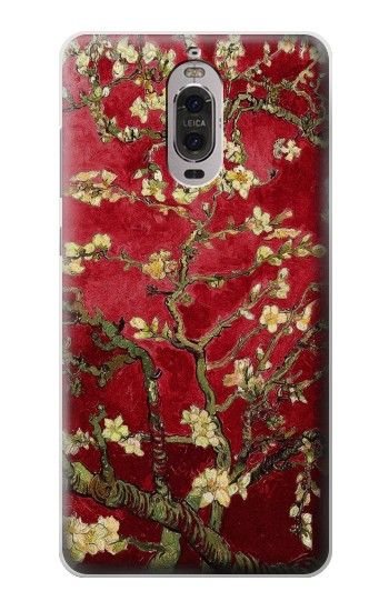 Printed Red Blossoming Almond Tree Van Gogh Huawei Ascend P6 Case
