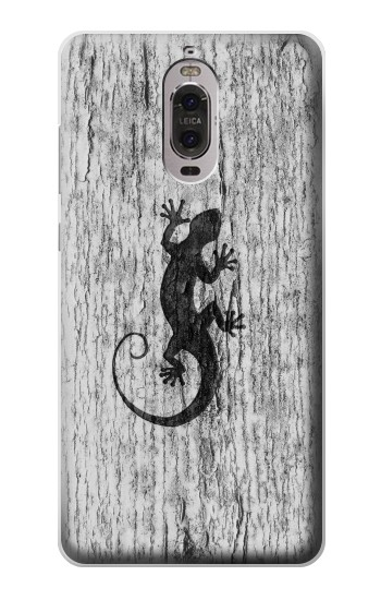 Printed Gecko Wood Graphics Printed Huawei Ascend P6 Case