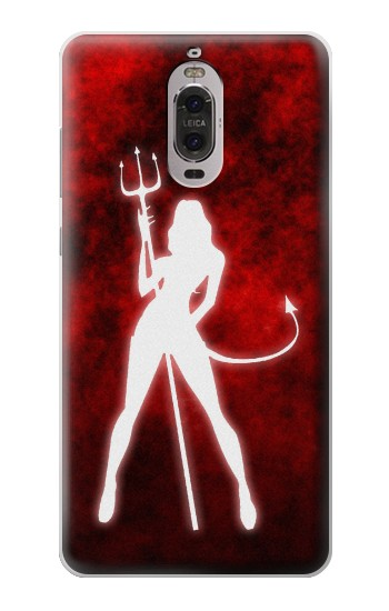 Printed Sexy Devil Girl Huawei Ascend P6 Case