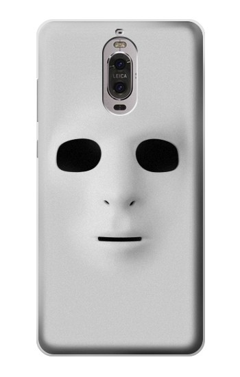 Printed White Face Mask Huawei Ascend P6 Case