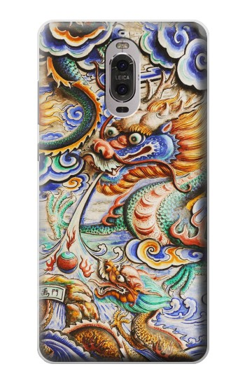 Printed Traditional Chinese Dragon Art Huawei Ascend P6 Case