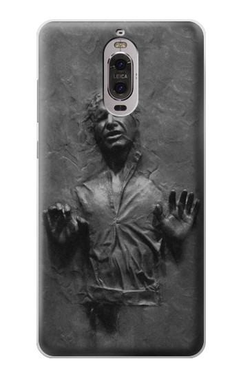 Printed Han Solo Frozen in Carbonite Huawei Ascend P6 Case