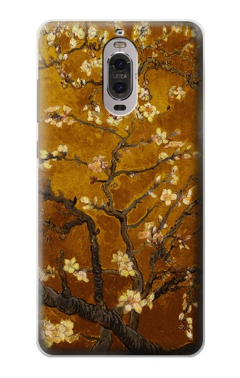 Printed Yellow Blossoming Almond Tree Van Gogh Huawei Ascend P6 Case