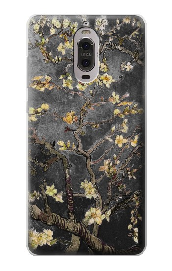 Printed Black Blossoming Almond Tree Van Gogh Huawei Ascend P6 Case
