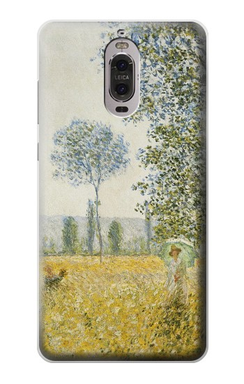 Printed Claude Monet Fields In Spring Huawei Ascend P6 Case