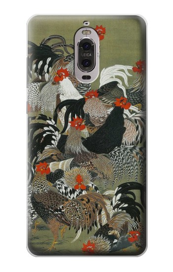 Printed Ito Jakuchu Rooster Huawei Ascend P6 Case