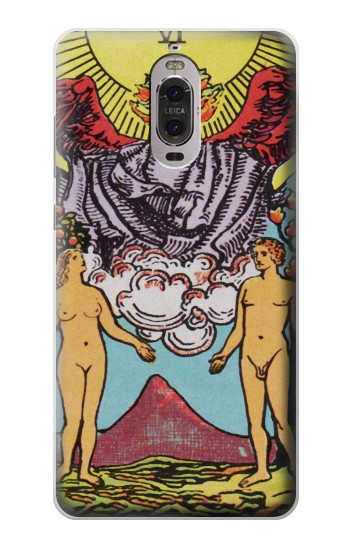 Printed Lovers Tarot Card Huawei Ascend P6 Case