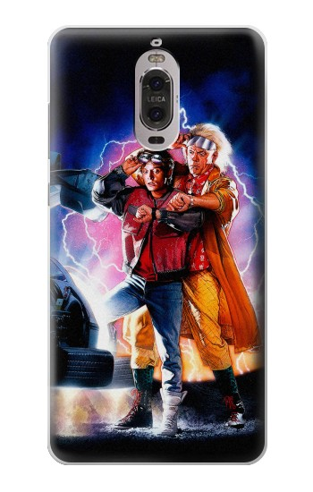 Printed Back to the Future Huawei Ascend P6 Case