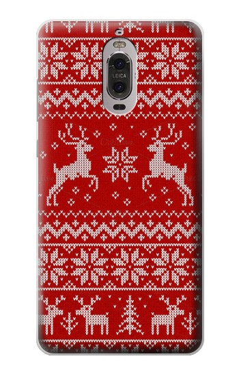 Printed Christmas Reindeer Knitted Pattern Huawei Ascend P6 Case