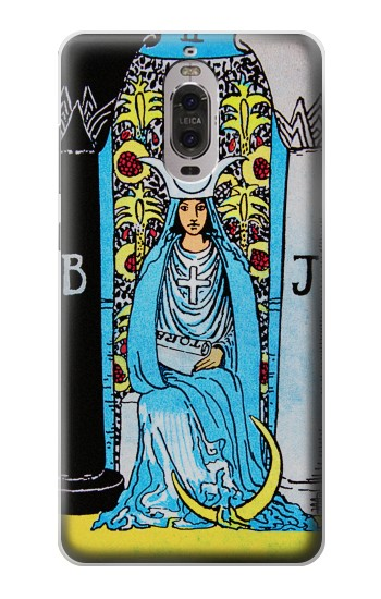 Printed The High Priestess Vintage Tarot Card Huawei Ascend P6 Case