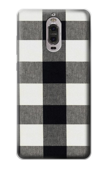 Printed Black and White Buffalo Check Pattern Huawei Ascend P6 Case