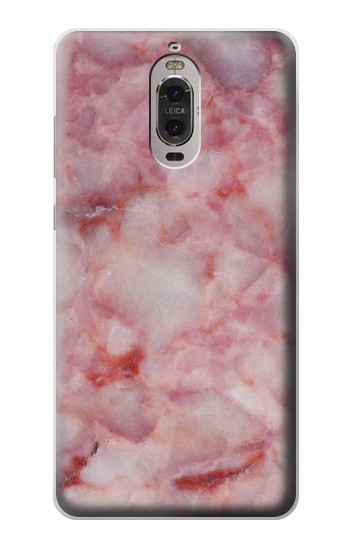 Printed Pink Marble Texture Huawei Ascend P6 Case