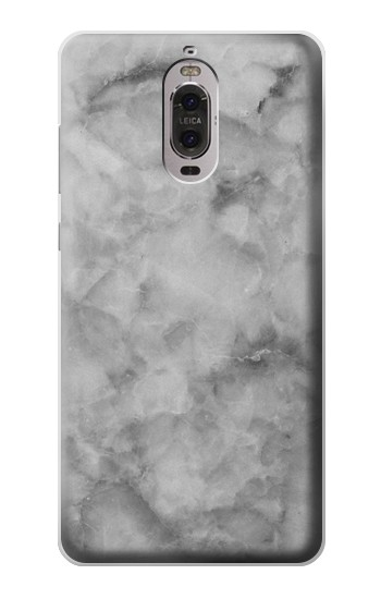 Printed Gray Marble Texture Huawei Ascend P6 Case
