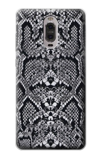 Printed White Rattle Snake Skin Huawei Ascend P6 Case