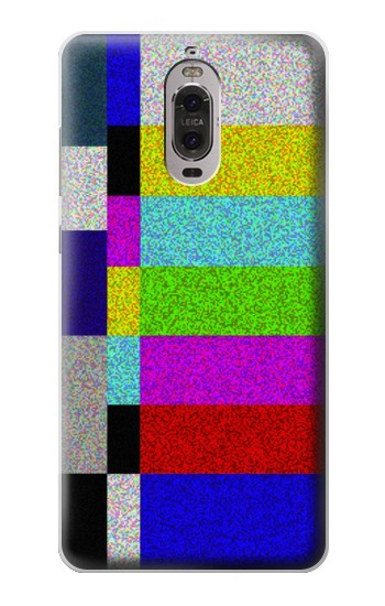 Printed Noise Signal TV Huawei Ascend P6 Case
