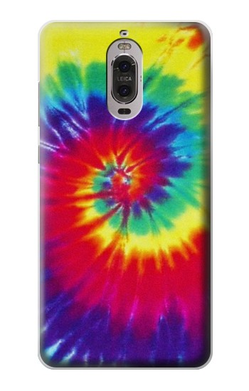 Printed Tie Dye Fabric Color Huawei Ascend P6 Case
