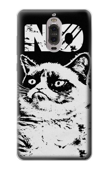 Printed Grumpy Cat No Huawei Ascend P6 Case