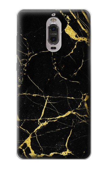 Printed Gold Marble Graphic Printed Huawei Ascend P6 Case