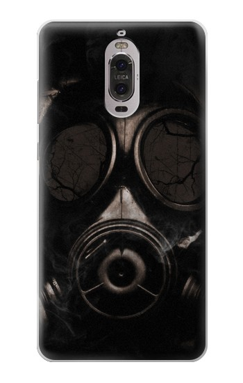 Printed Gas Mask Huawei Ascend P6 Case