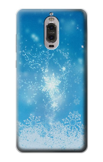 Printed Snow Spell Magic Huawei Ascend P6 Case